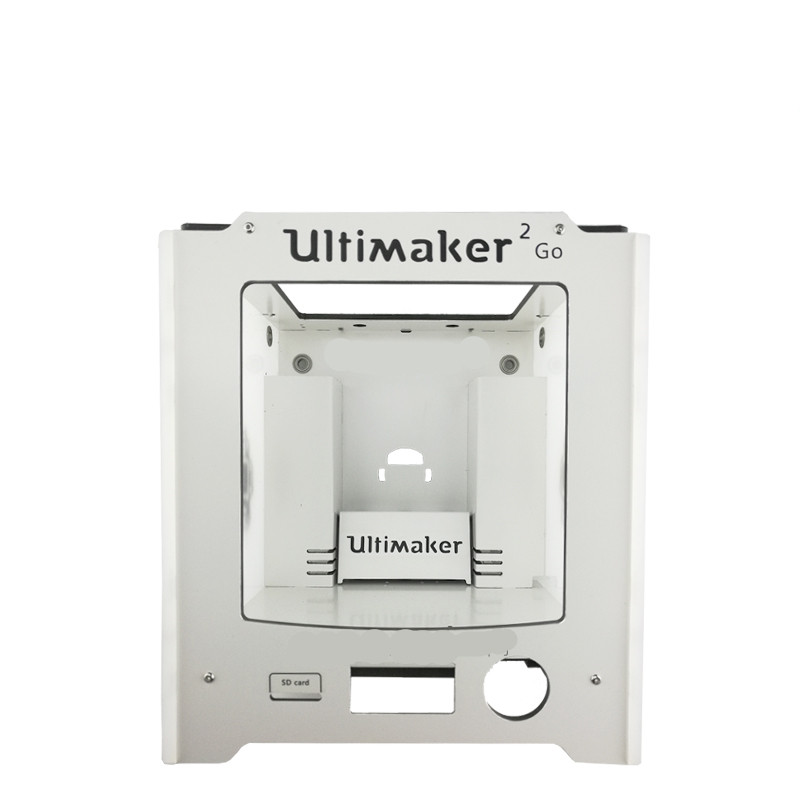 Blurolls DIY Ultimaker 2 UM2 GO assemble frame motor covers mainboard cover made by aluminum composite 3D printer DIY parts ultimaker 2 extended assemble frame plate for diy 3d printer aluminum composite plate 6mm thickness case housing 350 390 340