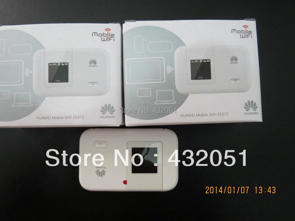 HUAWEI E5372 4G LTE-FDD 150Mbps HUAWEI E5372 Portable 4G Wireless Router free shipping original unlock 150mbps huawei e5577s protable 4g lte wifi router support lte fdd b3 b7 tdd b38