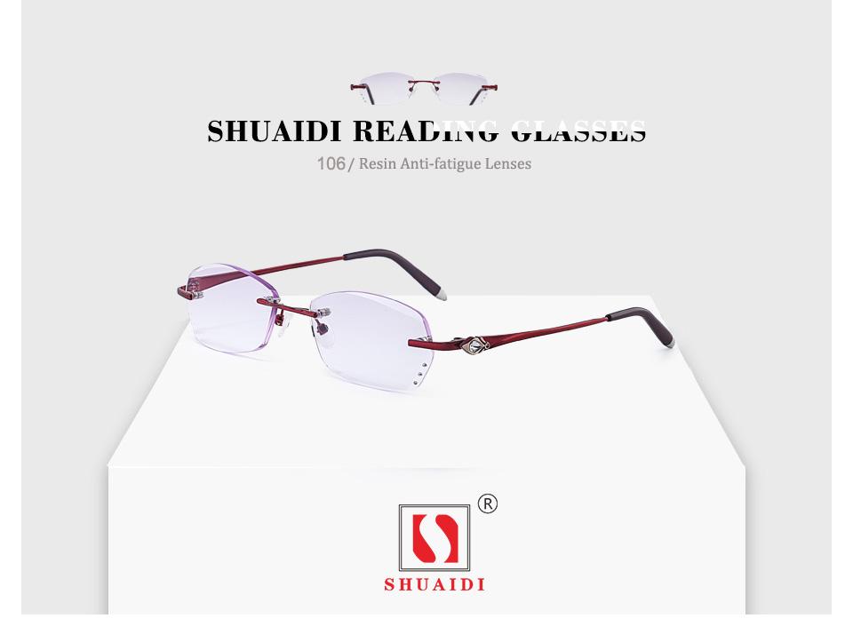 Lentes de Resina de moda Óculos de Leitura Mulheres Roxo Senhoras ... 9fe6bc81fc