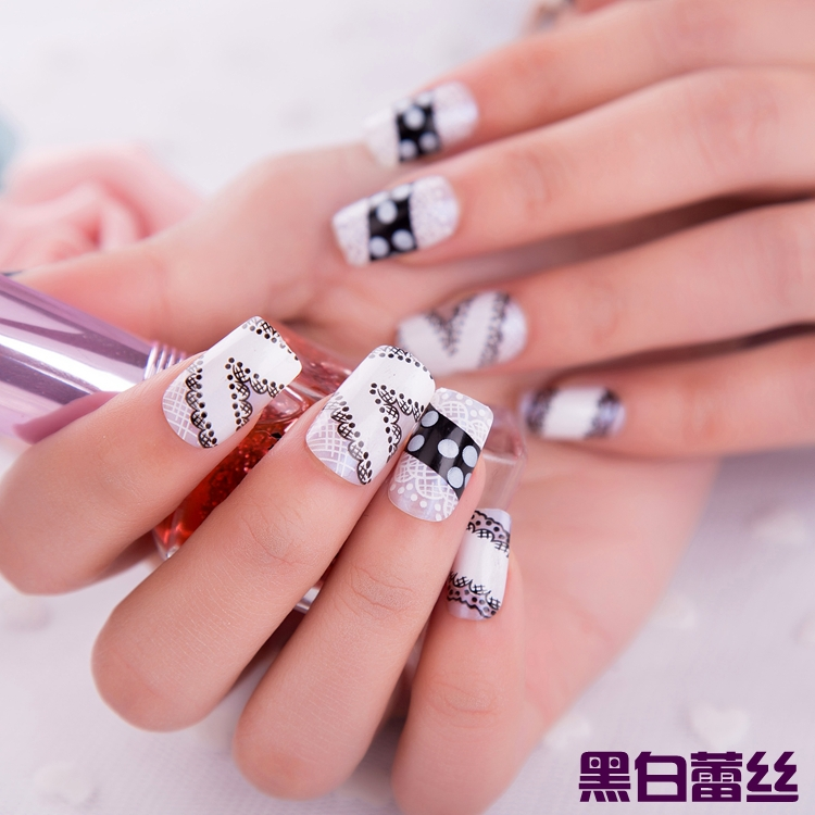 2015 Limited Real Finger False Nails Unhas Acrylic 24pcs Lot Children Nail Art Kid Fake On The Back Glue Tools Hand Makeup In From Beauty