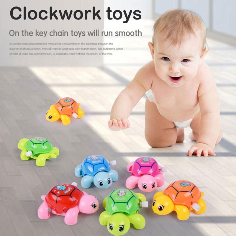 Κλασικό νέο γεννημένος σύννεφο ρολόι παιχνίδι τυχαία χάρτινο κουτί ζωικό χελώνα κίνηση ρολογιών και εκπαιδευτικά παιχνίδια για παιδιά