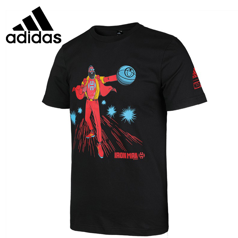 Original New Arrival  Adidas HARDEN IRON MAN Men's T-shirts short sleeve Sportswear