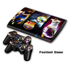 Dustproof protective skin and vinyl material decal for PS3 super slim 4000 with top sale  #TN-P3Slim4000-0006