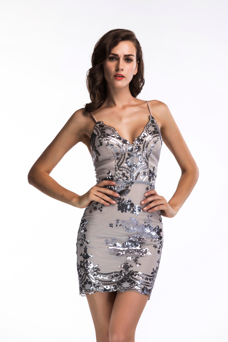 2020 Luxury Sexy Sequins PArty Dress 49
