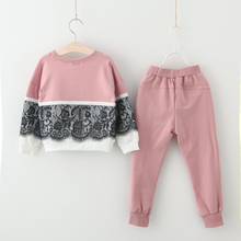 Girl's Cute Cotton Sport Suits