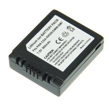 Venda quente 1 pcs cgr-s002 cgr s002 de alta capacidade 600 mah 7.2 v li-ion bateria para câmera panasonic dmc-fz1 dmc-fz10 dmc-fz10eg-k