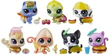 Littlest pet Hungry Pets Pack Mystery Nice Girl toys figures