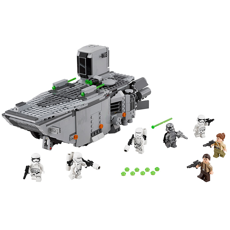LEPIN Star Wars 7 First Order Transporter Figure Toys building blocks set marvel  compatible with legoe lepin 05003 star wars first order transporter building block 845pcs diy educational toys for children compatible legoe