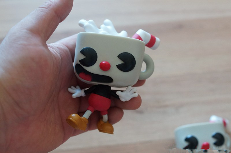 Original Funko Pop Cuphead Vinyl Action Figure Collectible Model Loose Toy Cheap No Box In Stock