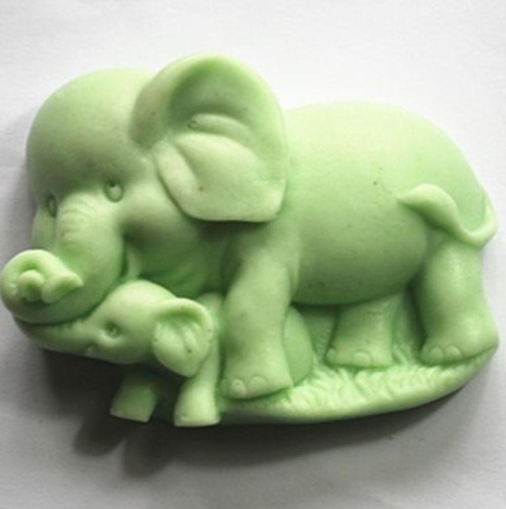 Elephant Mould S348 Craft Art Silicone Soap Mold Craft Molds DIY Handmade Candle MoldsElephant Mould S348 Craft Art Silicone Soap Mold Craft Molds DIY Handmade Candle Molds