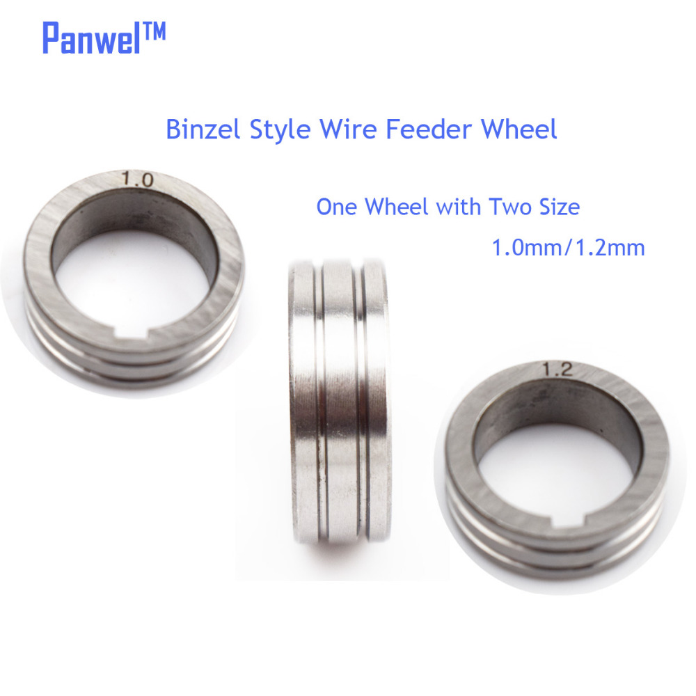 Binzel Style MIG Wire Feeder Wheel 1.0mm 1.2mm Dual Size Roller For ...