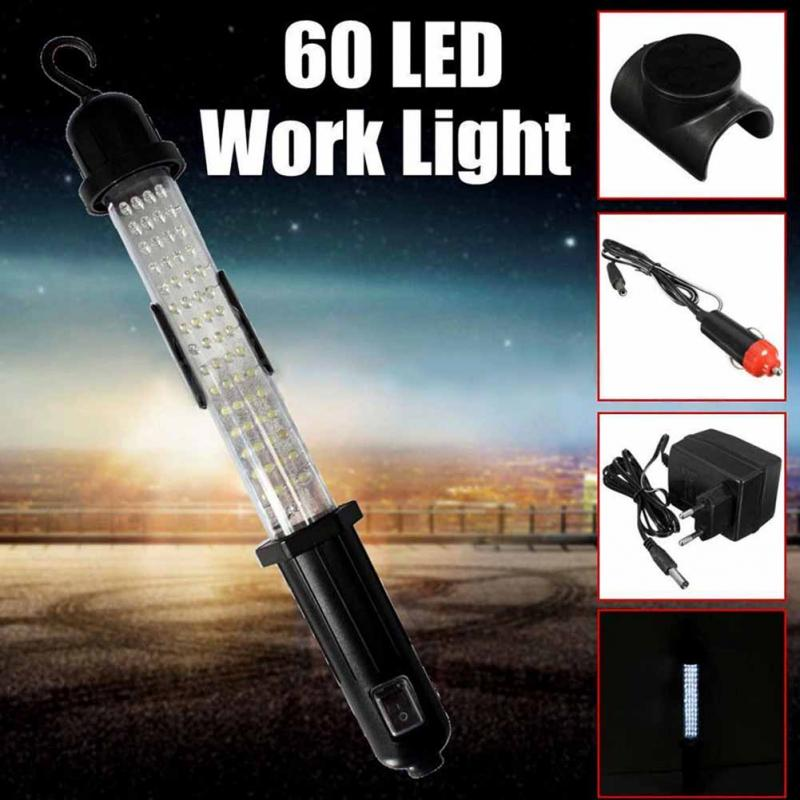 26 Led Rechargeable Cordless Worklight Garage Inspection: New Portable 60 LED 350LM Wireless Rechargeable Work Light