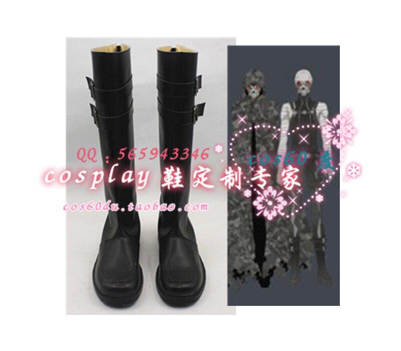 Épée Art En Ligne 2 Fantôme Balle Mort Gun Cosplay Boot Chaussures S008