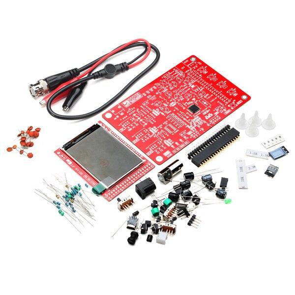 Бесплатная Доставка Заводская Цена Обучения Orignal JYE Tech DSO138 DIY kit Цифровой Осциллограф Комплект Электронного Обучения Комплект