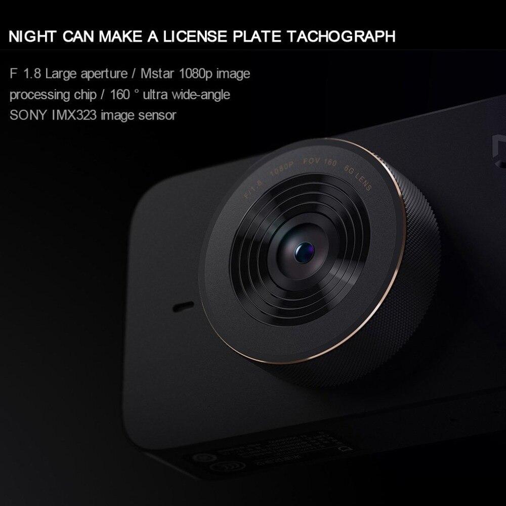 Xiao mi jia Вождение рекордер mi Dashcam F1.8 160 градусов широкоугольный 1920*1 дюймов CMOS китайская версия автомобильный аксессуар