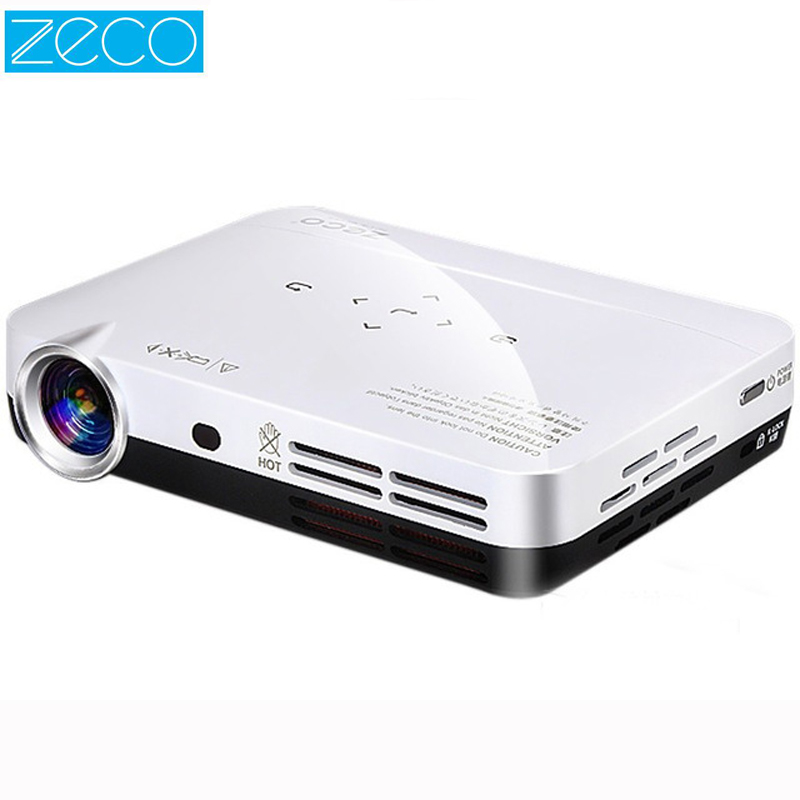 Zeco CX3 LED Projector Full HD Proyector 1080P Android Projetor Portable Mini Video Beamer DLP Home Theater Projectors HDMI USB