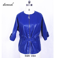 loose jacket coat fur wholesale 100% Genuine Leather sheepskin Brands Sales spring jacket women 2017 women blouses spring summer