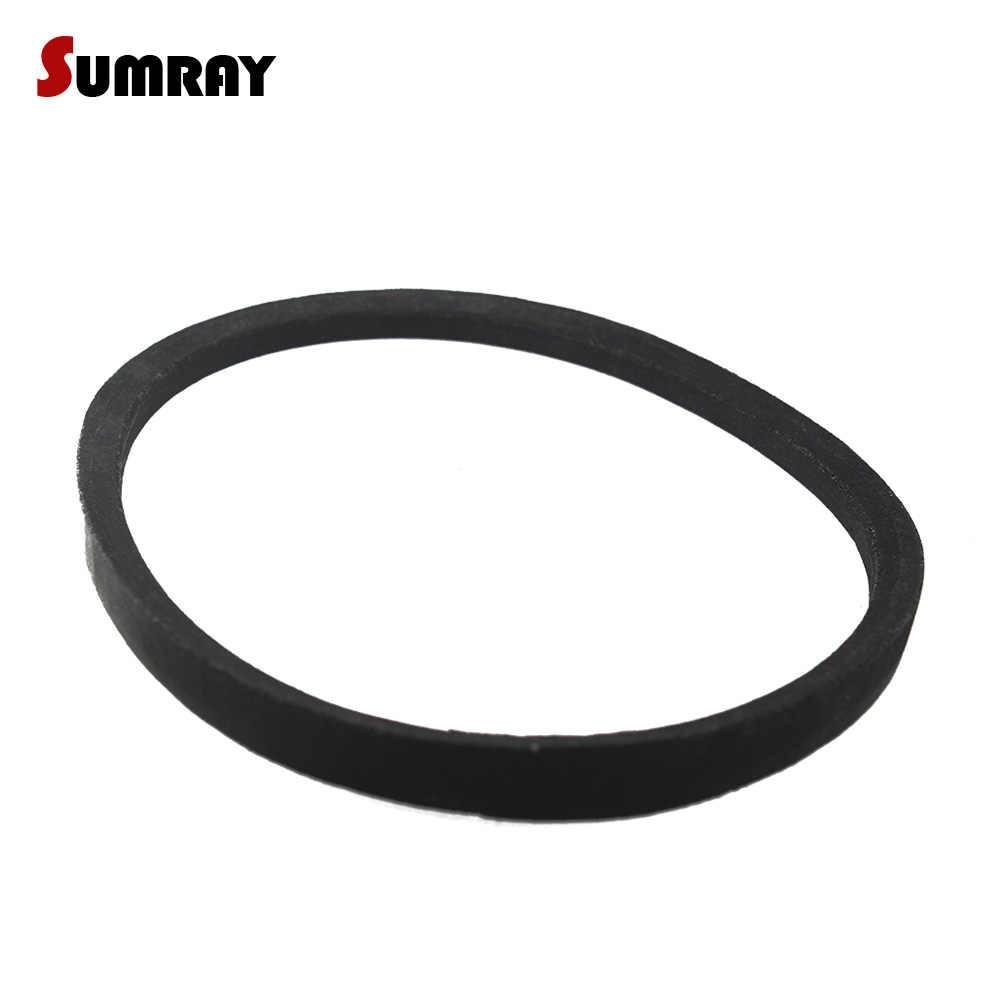 uxcell 35 Black Machinery Drive Band Rubber Belts B Type Vee Belt