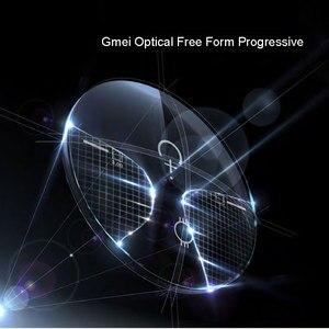 Image 4 - 1.56 Digital Free Form Progressive No Line Multi Focal Prescription Customized Optical Lenses With Anti Reflection Coating 2 Pcs