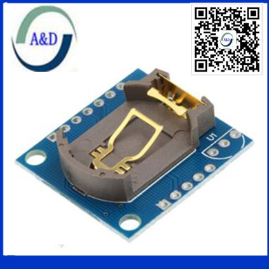1 шт./лот крошечный RTC I2C модули 24C32 памяти DS1307 RTC модуль для Arduino без батареи