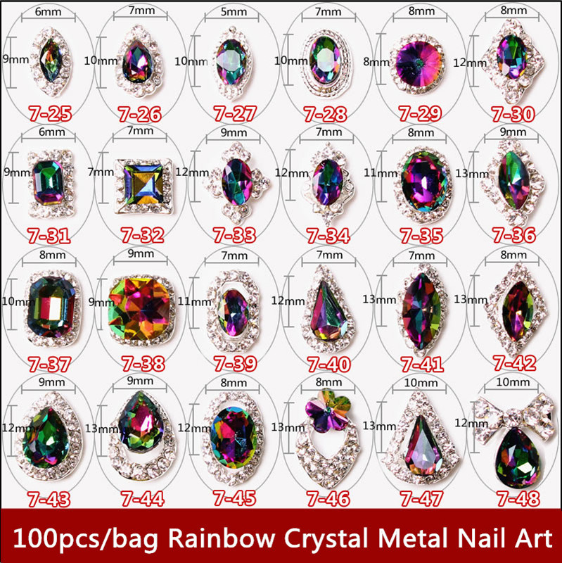 Кристаллы для ногтей сваровски