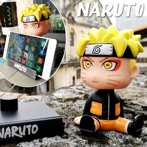 Image 2 - Car Ornaments Anime Naruto Bobble Head Car Decoration Whirlpool Naruto Automotive  Dashboard Decoration Gift Toys