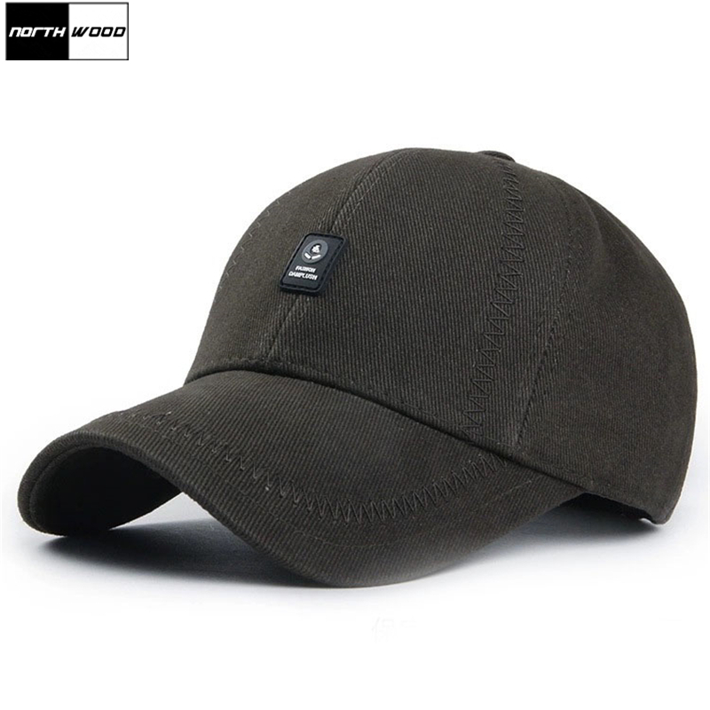 [NORTHWOOD] Solid Color Baseball Caps For Men Cotton Bone Gorras Para Hombre Baseball Hat Outdoor Dad Hat