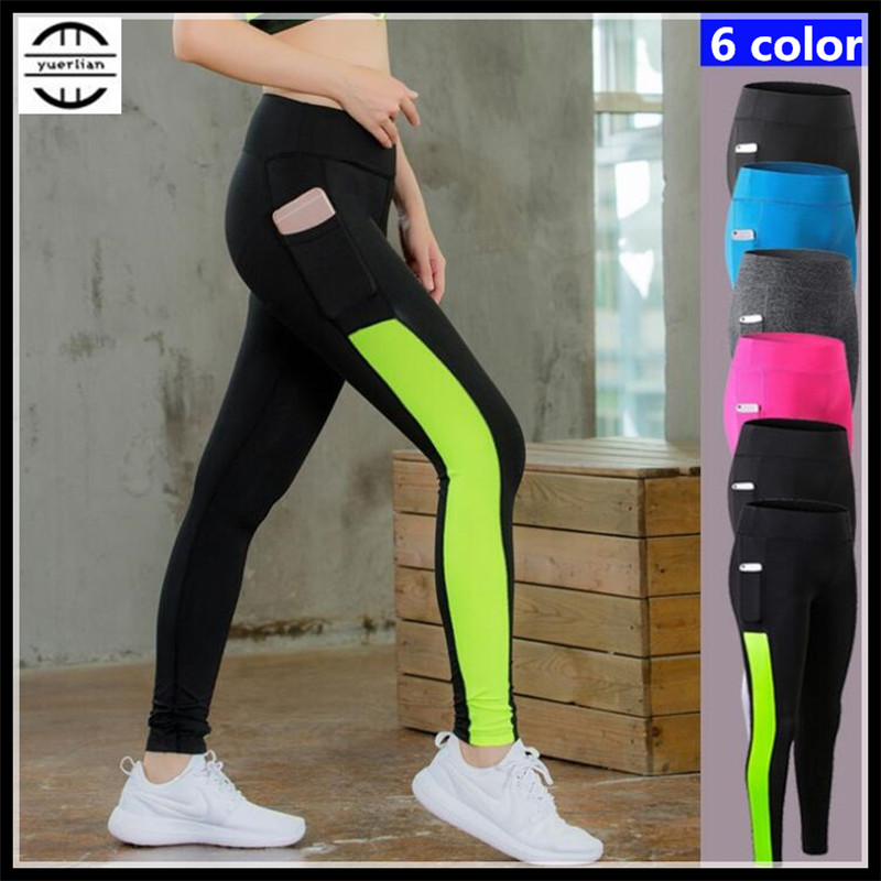 100p Women Shapers Exercise 3D Tight Fitness Full Pants Quick-dry Wicking Breathable High Elastic Compression Pocket Long Pants