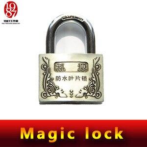 Image 1 - Takagism game prop, echte leven kamer escape props jxkj 1987 magic lock niet nodig sleutels om deze magic lock