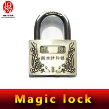 Takagism game prop, real life room escape props jxkj 1987 magic lock do not need keys to open this magic lock