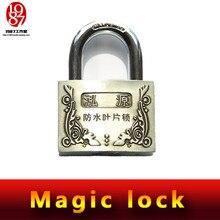 Takagismゲームプロップ、リアルライフルーム小道具エスケープjxkj 1987マジックロック必要はありませんキーにオープンこのマジックロック