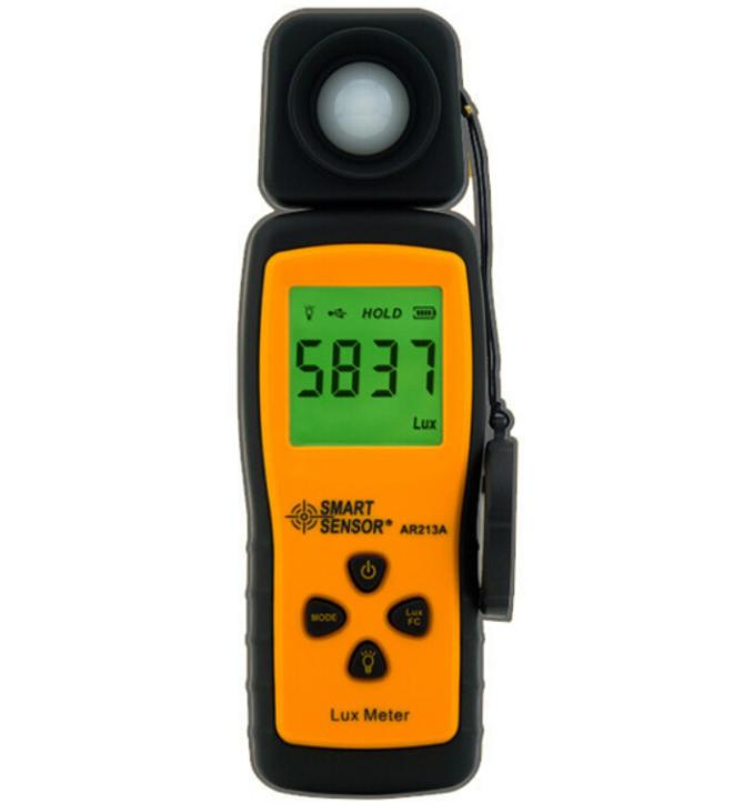 цены на Mini Lux Meter AR213 Digital Light Luxmeter Measuring Range 1~100.000 lux Illuminometer в интернет-магазинах