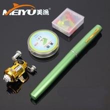 MeiYu Pocket Pen Sheeting Molding Compound Fishing font b Rod b font Pole Reel font b