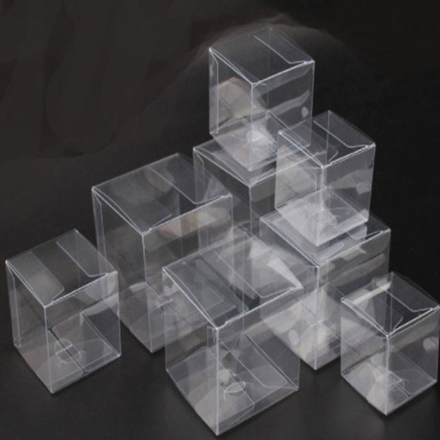 Square Plastic Transparent Packaging Boxes 15 Sizes Small/Large Clear Gift Box Packaging PVC Display Box For Candy/Crafts/toys & Square Plastic Transparent Packaging Boxes 15 Sizes Small/Large ...