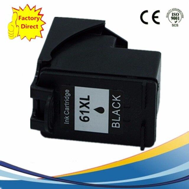 61XL Cartouche Dencre remise à neuf Pour HP61 HP61XL CH561WN Deskjet 2510 2512 2540 2620 3000 3050 J110a J210a J310a J410a