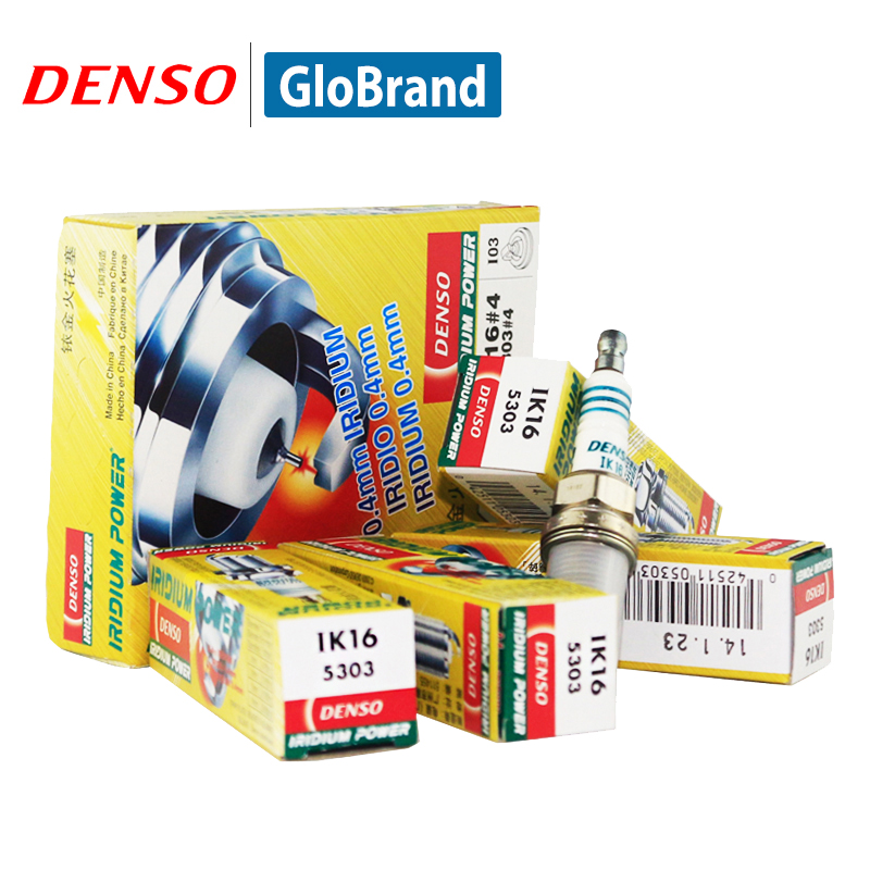 DENSO Car Spark Plug For Honda Accord Civic Civic Hybrid ES 1 CRV HRV GH Integra DC4 MDX Odyssey RA1 RA8 Iridium IK16 Spark Plugs & Glow Plugs    - title=