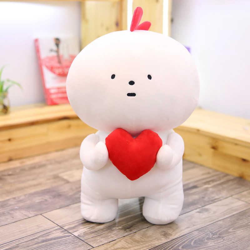 Cozfay Бесплатная Прямая доставка мультфильм милая мягкая игрушка, животное супер мягкая мультяшная кукла с сердцем для Velentines подарки