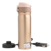 12V 400ml Car Travel Auto Stainless Steel Heating Electric Bottle Coffee Tea Cup My Boiling Water Bottle Vacuum Flasks