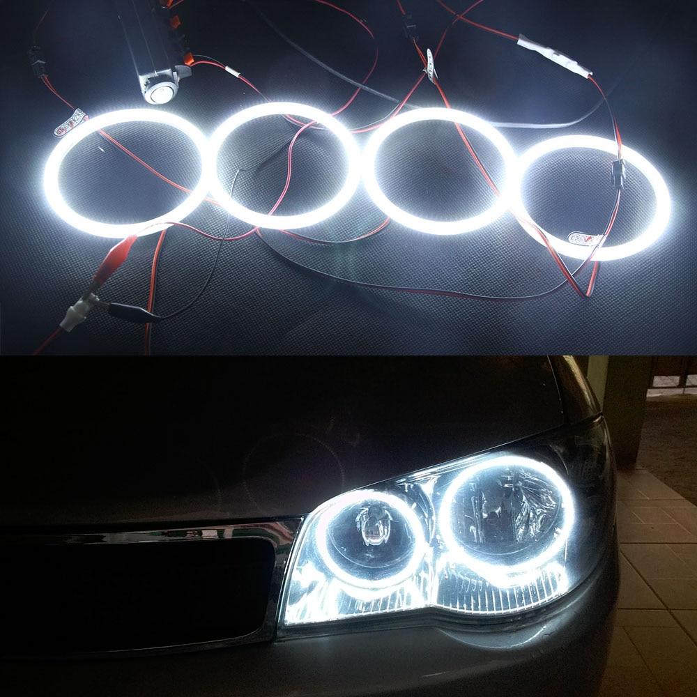 4pcs 3014SMD Led Angel Eyes Headlight For Hyundai Sonata 2002 2003 2004 2005 Ultra Bright Led Halo Light lamp OEM Replacement обои виниловые флизелиновые erismann sonata 4383 4