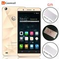 Original gooweel mt6580 m5 pro smartphones quad core ips de 5 polegada telefone móvel 1 GB + 8 GB câmera de 8MP GPS 3G telefone celular Caso Grátis