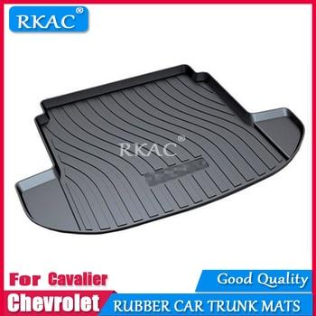 RKAC Rubber mats car trunk mats fit for Chevrolet cavalier 2016-2019 car floor rear cargo mub boot liner auto trunk organizer