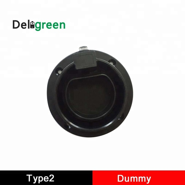 Deligreen EV מטען תחנת אביזרי IEC 62196 Type2 AC Dummy Socket מחזיק