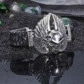 Европа и соединенные Штаты ювелирные изделия ангельские крылья череп рук ручной работы кожаные мужские браслеты