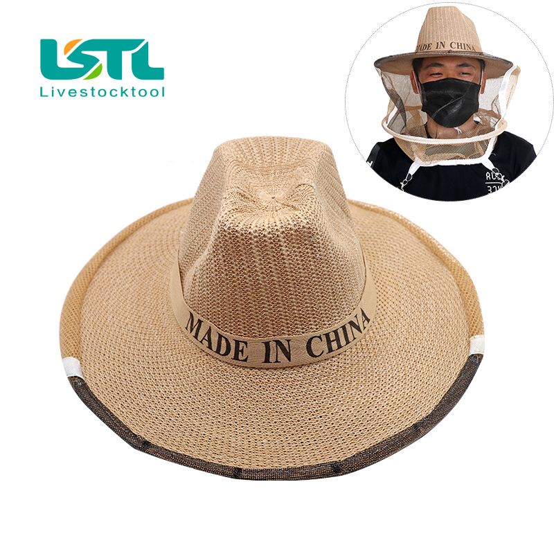 High Qulity Anti Bee Hat Beekeeping Beekeeping Protective Supplies Export-oriented Durable Protection Beekeeper Cow Boy Hat