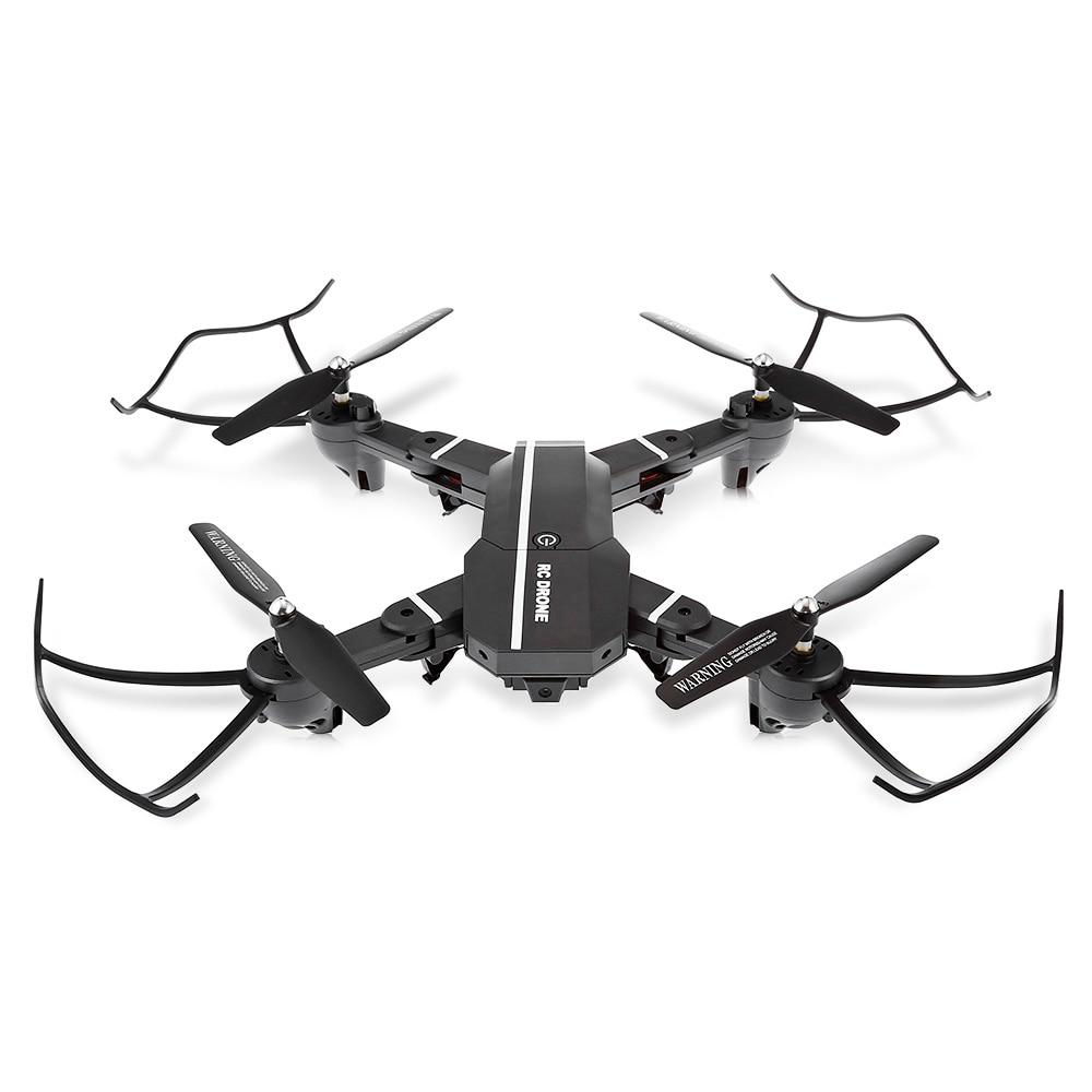 8807HD Foldable RC Quadcopter Mini Drone RC Helicopter RTF WiFi FPV With HD Camera Voice Control/G-sensor Mode VS XS809W Drone