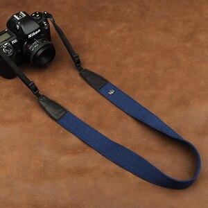 Image 5 - Cam in 8001 8015 العالمي قابل للتعديل القطن والجلود شريط كاميرا الرقبة الكتف تحمل حزام لكانون سوني نيكون SLR كاميرا
