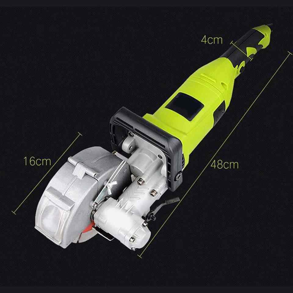 220V ไฟฟ้า Chaser Groove ตัดเครื่องผนังเครื่องเหล็กตัดคอนกรีตเครื่อง 5.2KW