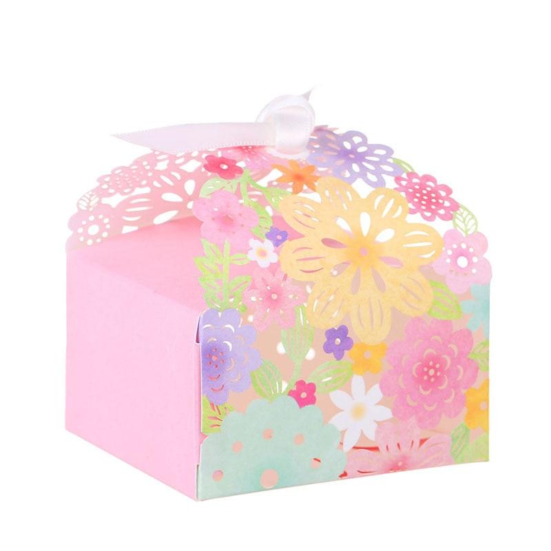 Wedding Invitations Favor and Gifts Vine Flower Candy Boxes Paper Wedding Decor centerpieces Souvenirs Ideas regalos de boda