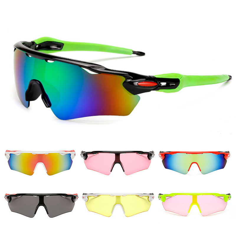 Cycling Sunglasses Sand-proof Polarized Bicycle Goggles Women Men Riding Bike Glasses GHMY