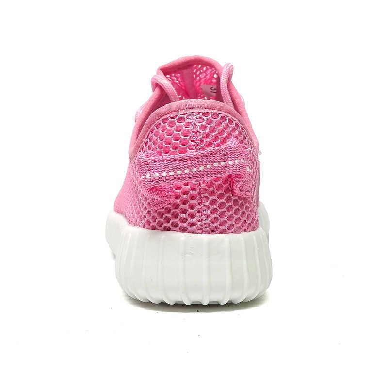 2019 Zomer Vrouwen Sneakers Comfortabele Flats Vrouwelijke Lace Up Mesh Platte Schoenen Ademende Casual Dames Loafers zapatillas mujer